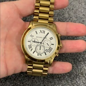 MK Gold Plated Watch.